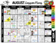 August Lesson Plans - First week of kindergarten activities FREE printables