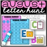 August Letter Hunt