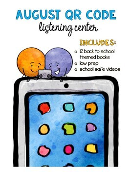 August QR Code Listening Center