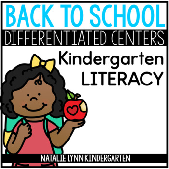 August Literacy Centers