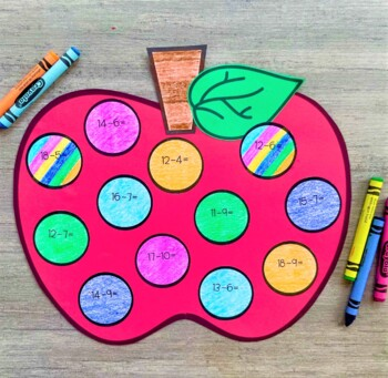 August Math Crafts: Back to School (Differentiated)