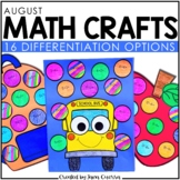 August Math Crafts: Back to School Activities/ Math Craftivity