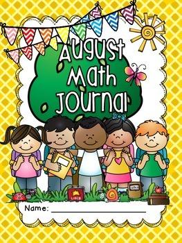 August Math Journal