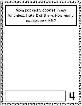 August Math Journal (Kindergarten - Common Core)