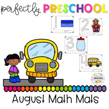 August Math Mats