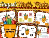 August Math Mats {second grade}