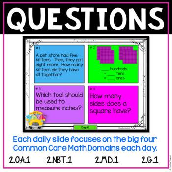 2nd Grade Math - August