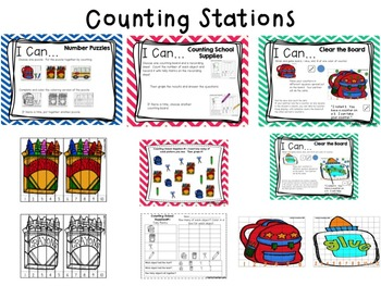 August Math Station