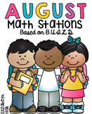 August Math Stations {Based on BUILD}