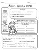 August Math and Literacy Printables Upper Elementary