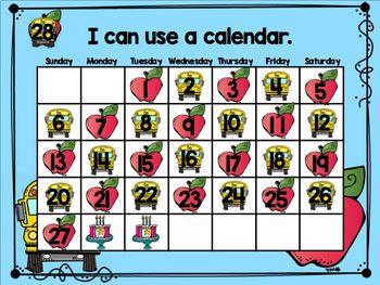 August Mimio Calendar