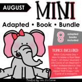 August Mini Adapted Book Bundle [8 books!] Digital + Print