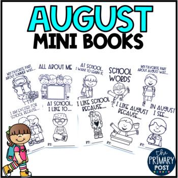 August Mini Books