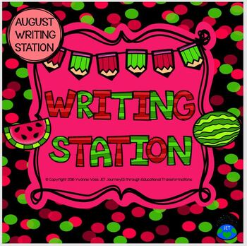August Mini Writing Station