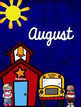 August Organizational Binder