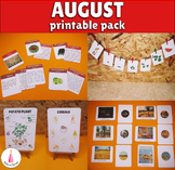 August Monthly Printable Packet