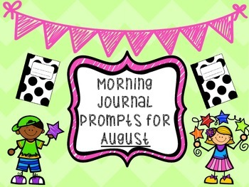 August Monthly Writing Prompts