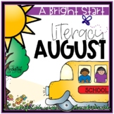August Morning Bright {Kindergarten Literacy Morning Work}