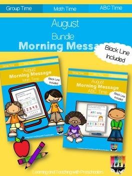 August Morning Message Bundle