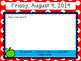 August Morning Messages Editable Template