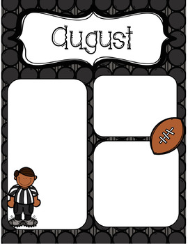 August Newsletter *Editable*