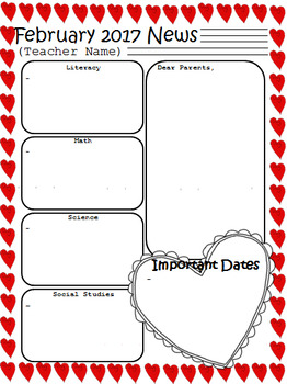 original-1856232-2 Valentine S Day Clroom Newsletter Template on