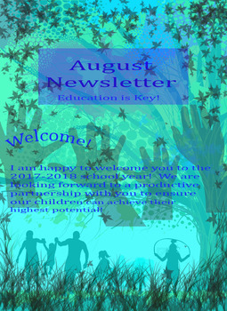 August Newsletter: Welcoming Parents!