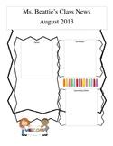 August Newsletter editable
