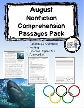August Nonfiction Passages