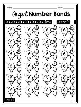 August Number Bonds