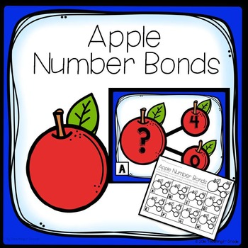 Apple Number Bonds - Write the Room