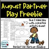 August Partner Play Freebie