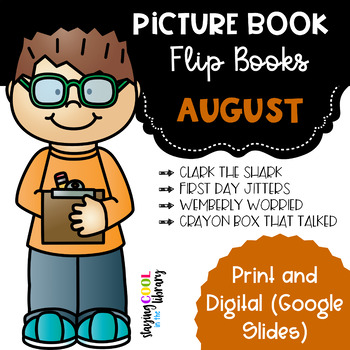 August Picture Book - Flip Book Set