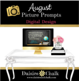 August Picture Writing Prompts - Digital Design