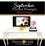 September Picture Writing Prompts - Digital Design