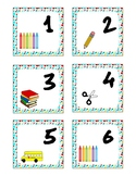 August Pocket Calendar Cards