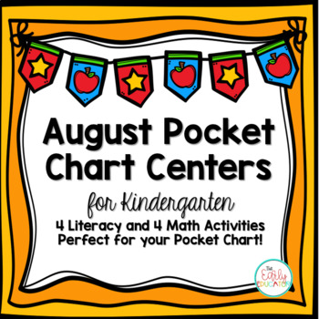 August Pocket Chart Centers