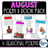 August Poem and Book Set