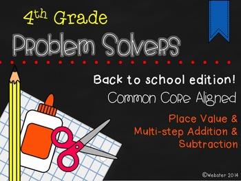 August Problem Solvers