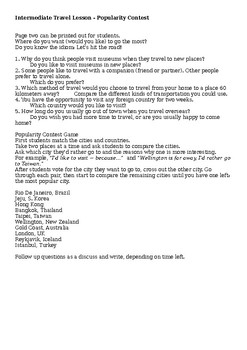 August Q & A Sheet: English Speaking Practice PLUS Free Game!