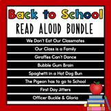 August Read Aloud Bundle   Back to School