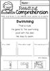 August Reading Comprehension Cut and Paste