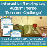 August Reading Log (Summer Challenge)