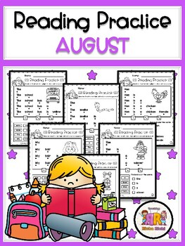 August Reading Practice
