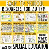 August Resources for Special Education