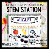 August STEM Activity | Engineer Inspiration | Printable & Digital