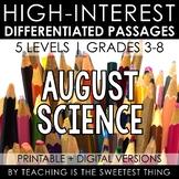 August Passages: Science