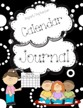 August September Calendar Journal