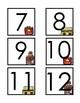August/September Calendar Numbers