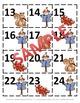 August & September Calendar Pieces